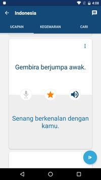 Belajar bahasa Indonesia - Buku Frasa/Penterjemah syot layar 3
