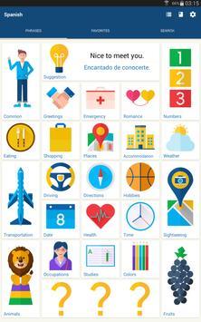 Learn Spanish Phrases | Spanish Translator screenshot 4