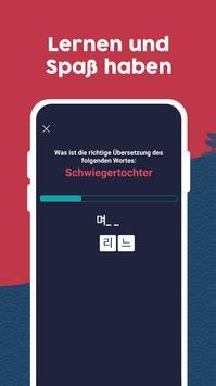 Koreanisch lernen Screenshot 3