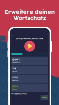 Koreanisch lernen Screenshot 4