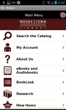 Moorestown Library Mobile poster