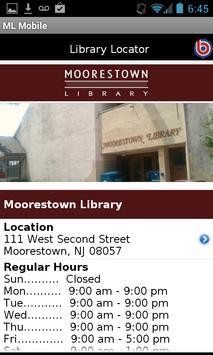 Moorestown Library Mobile screenshot 3