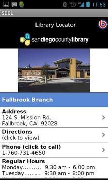 San Diego County Library screenshot 4