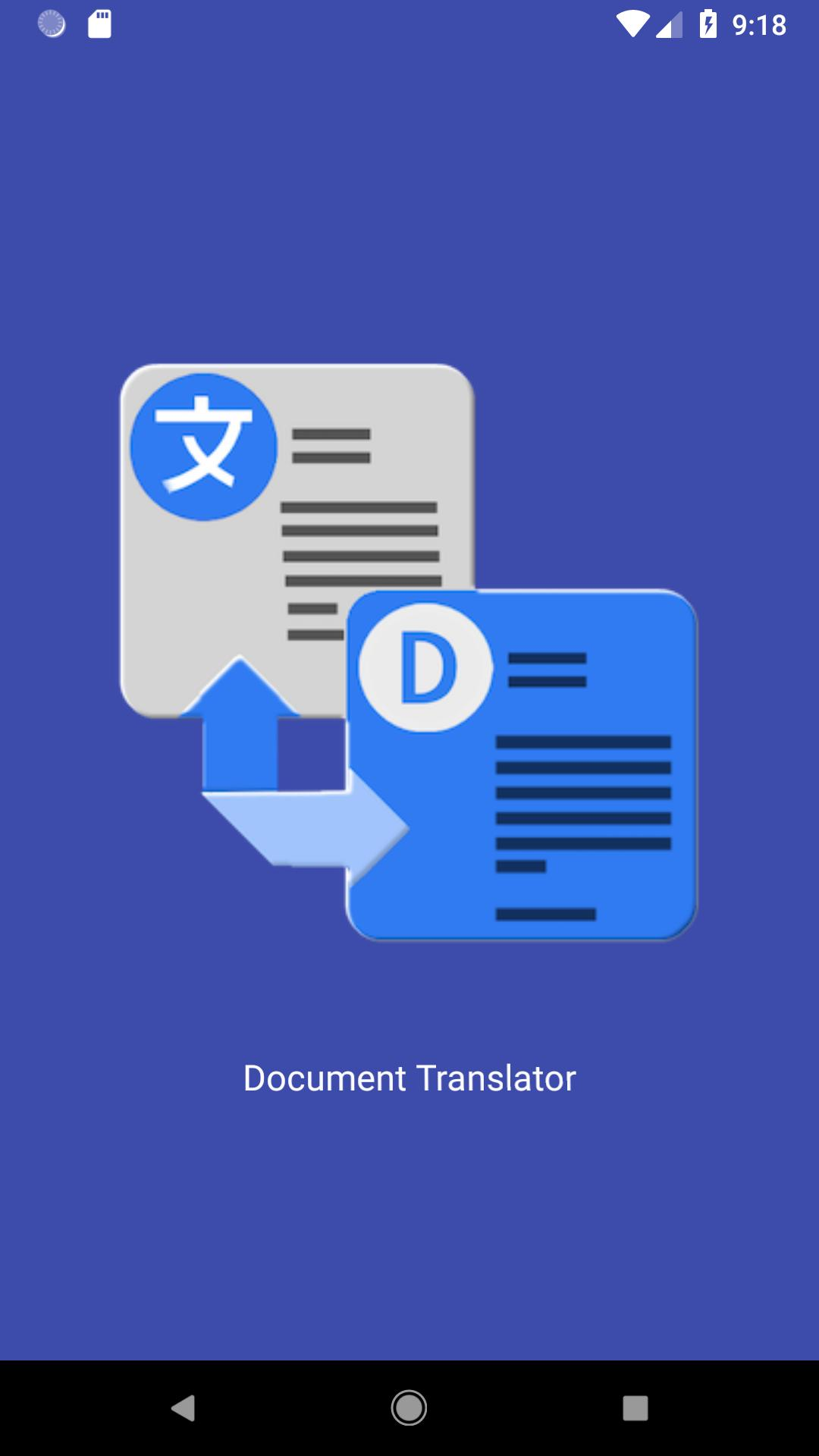 Document Language Translator for Android - APK Download