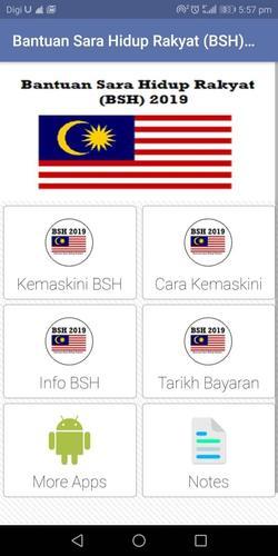 Bantuan Sara Hidup Rakyat 2019 Bsh For Android Apk Download