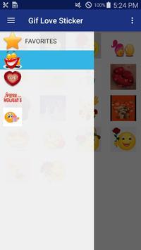 Gif Love Stickers скриншот 1