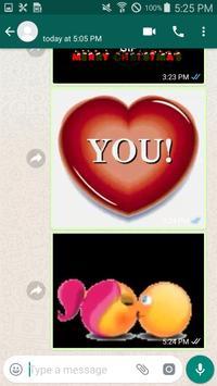 Gif Love Stickers скриншот 4