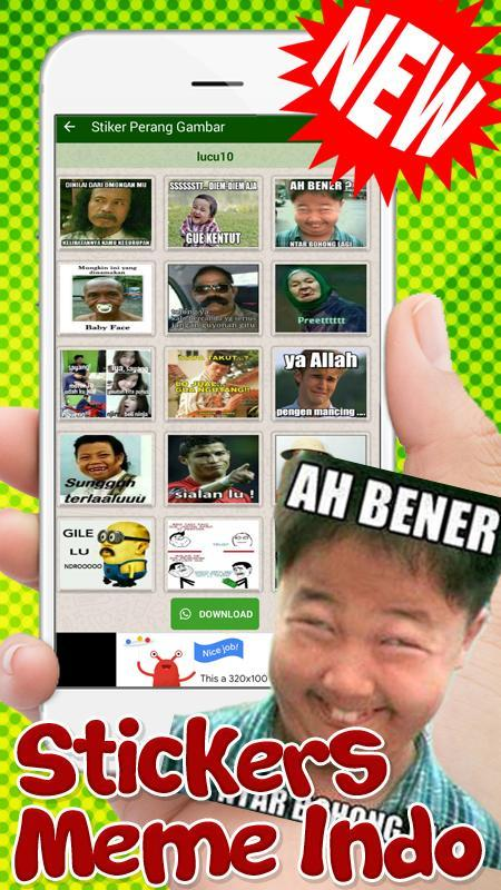 Stiker Meme Indonesia Lucu Wastickersapps Stickers For