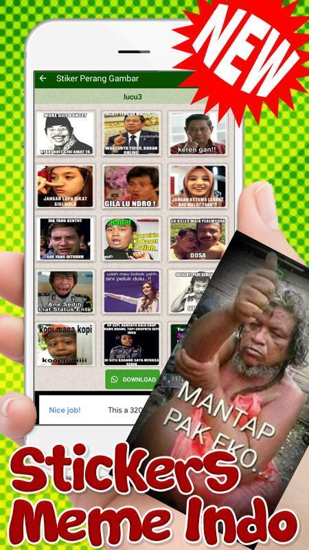 58+ Gambar Stiker Keren Dan Lucu Terbaru