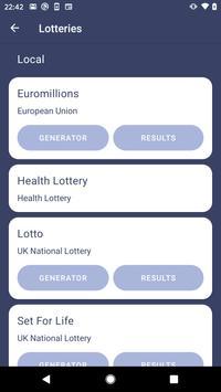 Lottery Balls screenshot 1