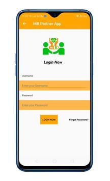 MB Partner App screenshot 1