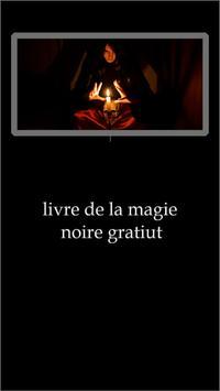 livre de la magie noire gratiut poster