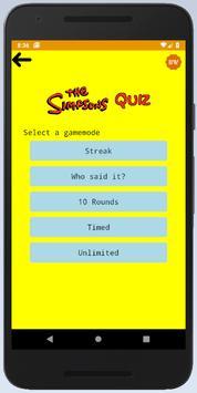 Simpsons Quiz poster