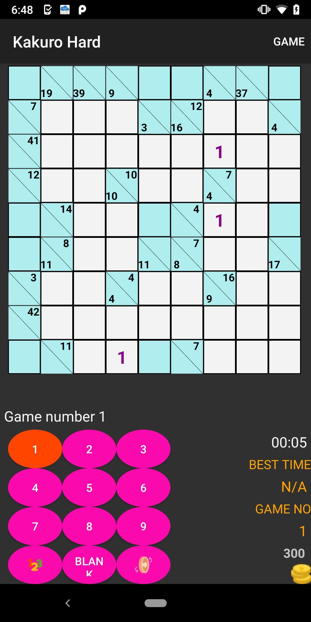News Video Crossword KenKen Killer Sudoku Kakuro for Android