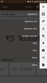 Signature Maker poster