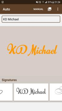 Signature Maker screenshot 1