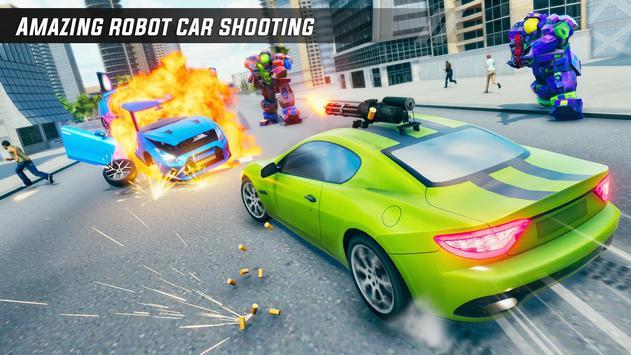 Crocodile Robot Car Simulator: War Robot Games screenshot 3
