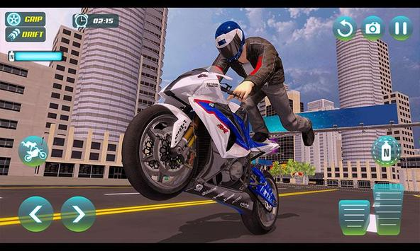 City Bike Driving Simulator-Real Motorcycle Driver screenshot 2