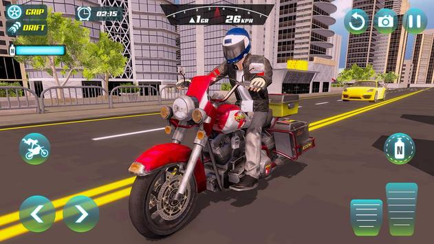 City Bike Driving Simulator-Real Motorcycle Driver screenshot 11