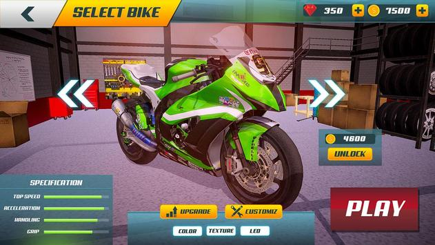 City Bike Driving Simulator-Real Motorcycle Driver screenshot 4