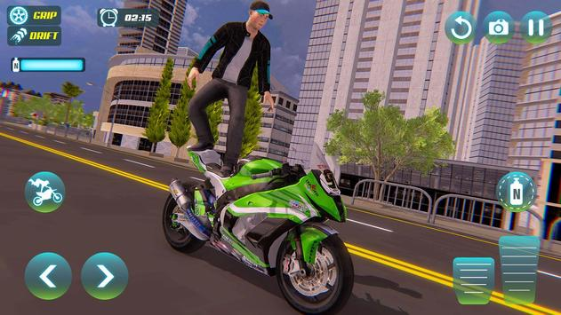 City Bike Driving Simulator-Real Motorcycle Driver screenshot 9