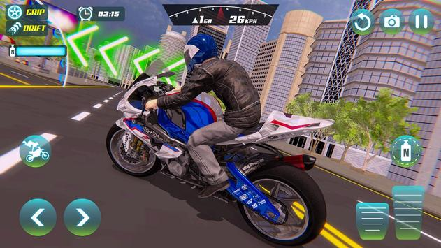 City Bike Driving Simulator-Real Motorcycle Driver screenshot 20