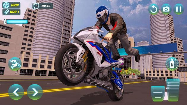 City Bike Driving Simulator-Real Motorcycle Driver screenshot 14