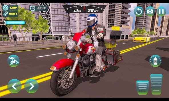 City Bike Driving Simulator-Real Motorcycle Driver screenshot 3