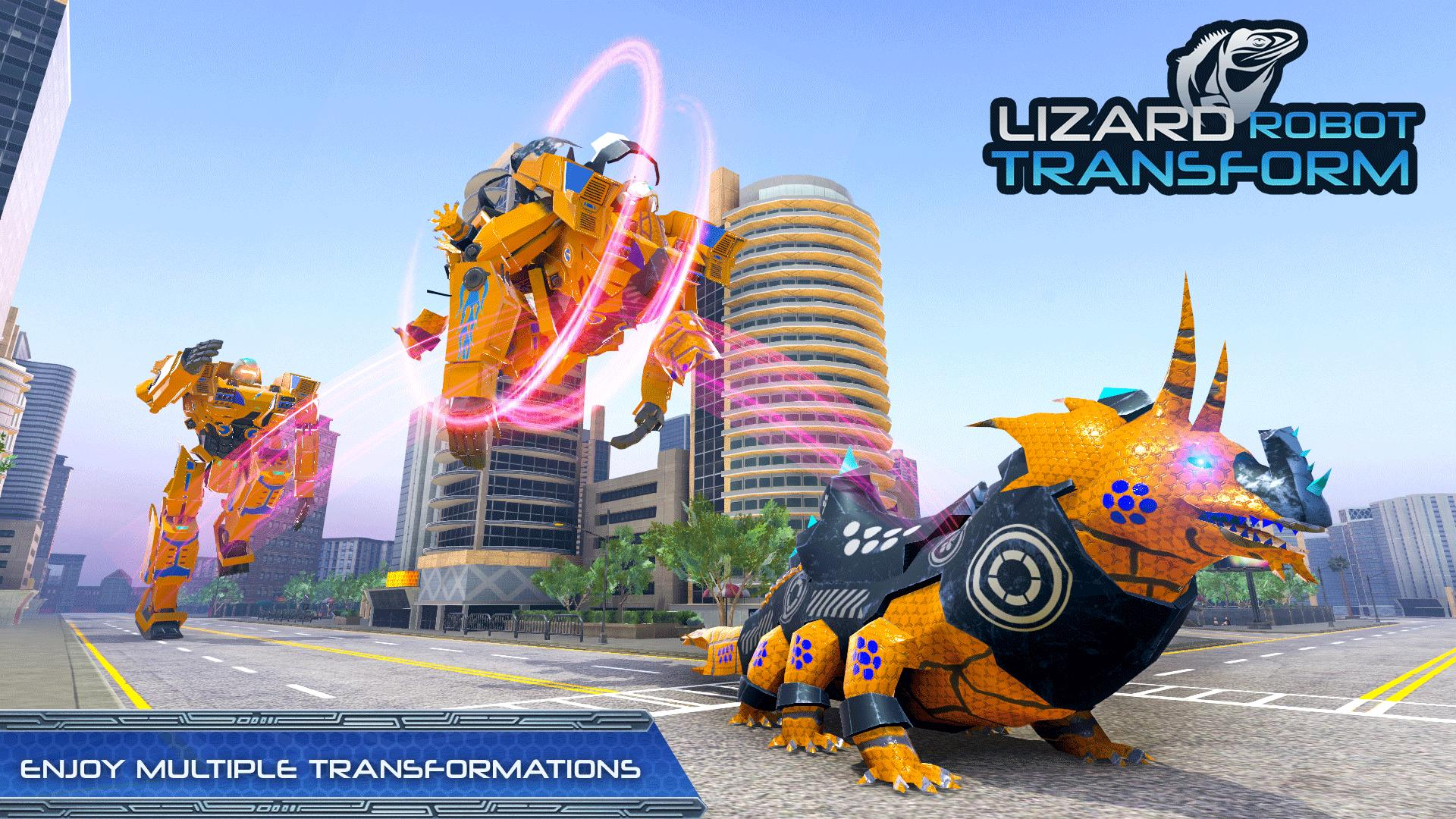 Lizard Robot Car Game Dragon Robot Transform For Android Apk Download