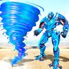 Tornado-Roboter Trans: Zukunft Robot Wars Zeichen