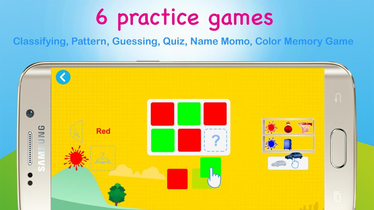 Color games for Kids - Learning colors for Toddler for ...