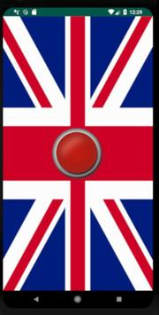 British National Anthem - UK poster