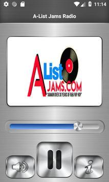 A-List Jams Radio poster