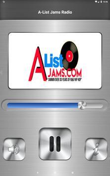 A-List Jams Radio screenshot 2