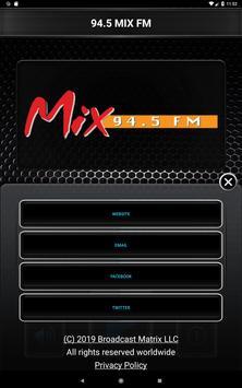 94.5 MIX FM screenshot 3