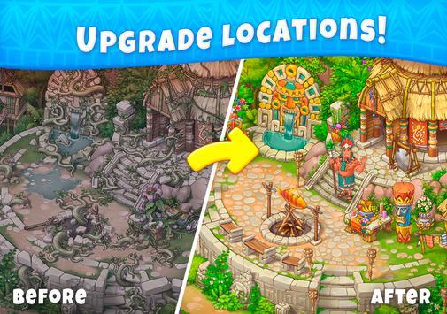 Jungle Mix Match 3 Games New Jewel in Puzzle Games capture d'écran 10