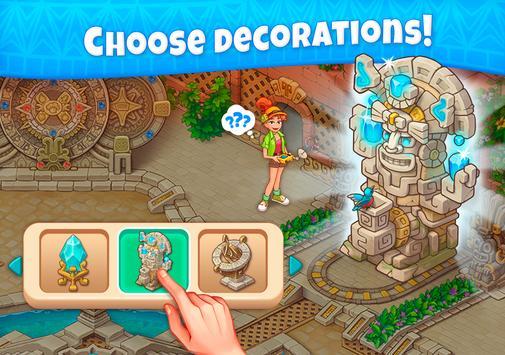 Jungle Mix Match 3 Games New Jewel in Puzzle Games capture d'écran 11