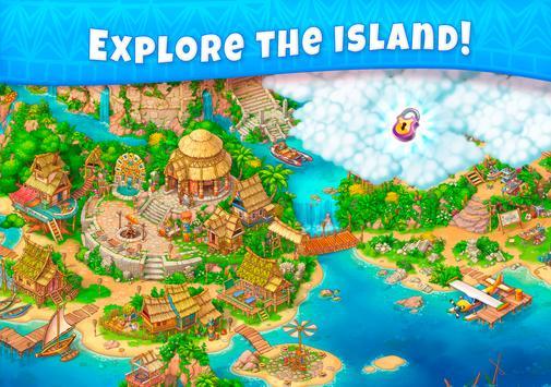 Jungle Mix Match 3 Games New Jewel in Puzzle Games capture d'écran 9