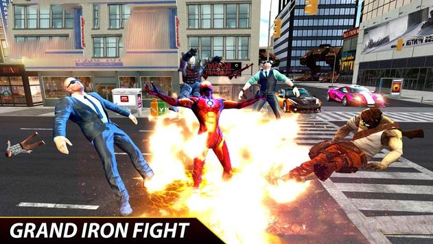 Flying Iron Superhero Spider : City Rescue Mission screenshot 3