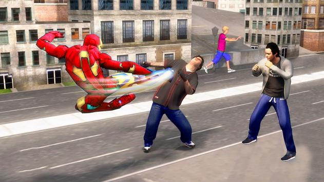 Flying Iron Superhero Spider : City Rescue Mission screenshot 6