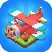 Merge Plane ícone