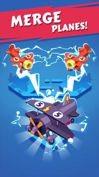 Merge Plane Poster