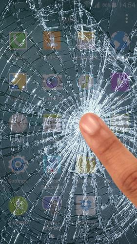 Картинка прикол разбитый экран