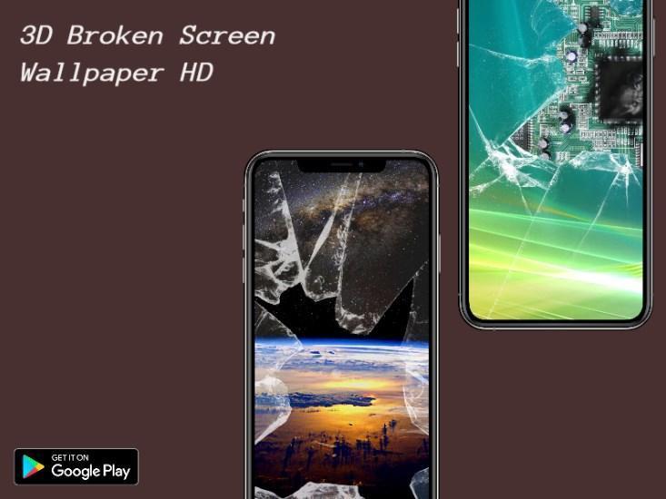 Fond D Ecran D Ecran Casse 3d Hd Pour Android Telechargez L Apk