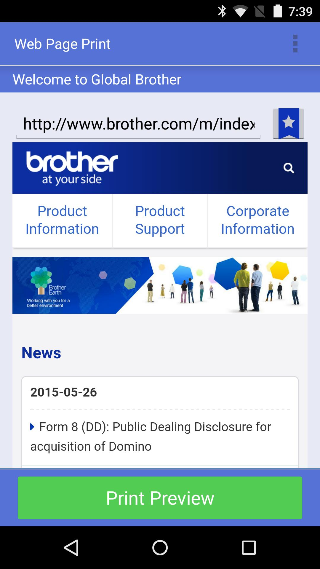 Brother iPrint&Scan for Android - APK Download