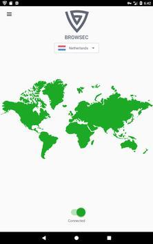 Browsec VPN - Free and Unlimited VPN screenshot 4