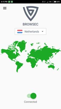 Browsec VPN: Free VPN and Proxy for Android poster