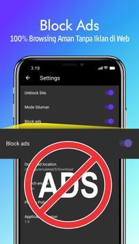 Browser Anti Blokir 2020 - Cepat & Ringan screenshot 2
