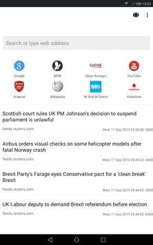 Super Fast Browser screenshot 5