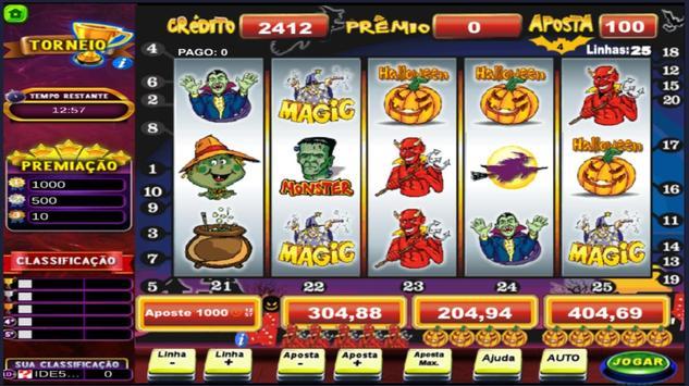 Halloween Caça Niquel Video Slot poster